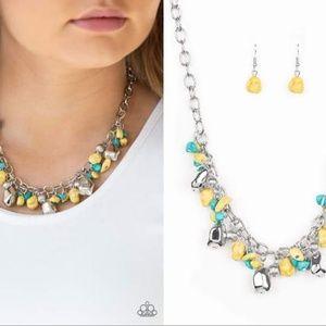 Multi-color Necklace Set - Fashion Accessories